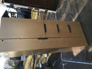 Knoll maple personal office tower cabinets.  Priced to sell