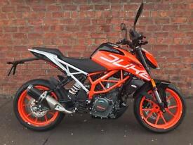 NEW KTM Duke 390 ready to race for only £17.69 a week