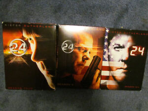 Coffrets DVD 24 heures chronos