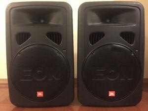 JBL Eon G2 portable powered monitors