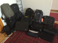 Laptop/Tablet/Camera Cases(Dell,HP,Turgus and Samsonite)