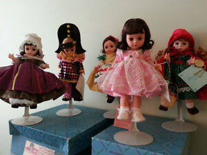 Madame Alexander Collector 8 inch Dolls between $15 to $250