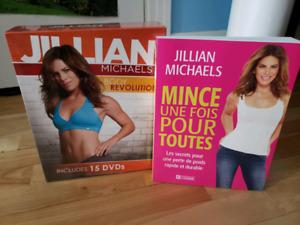 BRAND NEW Jillian Michaels Body Revolution 15 DVDs + livre