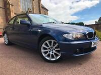 *12 MTHS WARRANTY*2005(55)BMW 318 CI SE AUTO COUPE WITH FULL LEATHER 61K FSH*