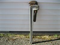 pipe wrench rigid 36 po en alluminium 75.00