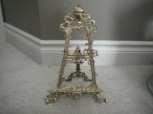 Gold Metal Plate/Picture Stand London Ontario image 1