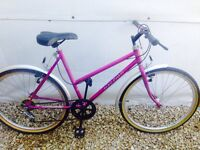 Serviced - Raleigh Ladies Town Bike