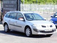 Renault Megane1.6 VVT, Estate,Dynamique,Silver 68 000 Miles,6 Month AA Warrranty