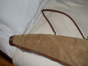 shot gun case from leather