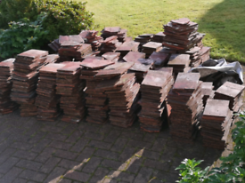 Rosemary Roof Tiles and ridges