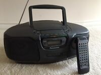 Panasonic RX DS35 Portable Stereo CD System
