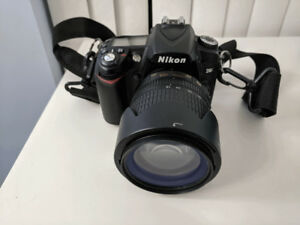 Nikon D90 with 3 lenses, flash, Tripod-Great Package - Like New