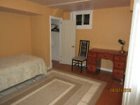 Desireable location, Furnished room on bus route 6.