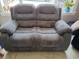 Recliner sofa x 2