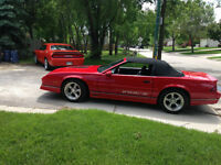 for sale 1989 Iroc convertible