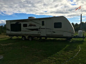 30' Sunset Trail by Crossroads Travel Trailer