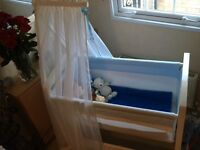 Silver cross baby cot crib