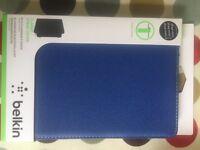 New in packaging - Belkin iPad mini 1/2/3 case in blue