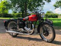 Ariel Red Hunter 1938 350cc Rigid With Girders. Classic British Motorcycle!