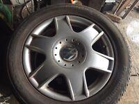 Set off 4 bora sport alloys wheels