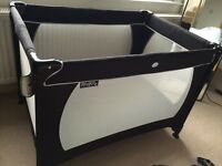 Red Kite travel cot and mattress