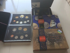 Various Canadian Mint coins for sale