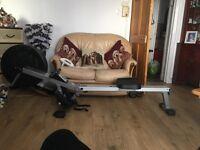 Rodger black rowing machine