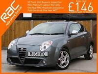 2012 Alfa Romeo Mito 1.4 Turbo Multiair 135 BHP Veloce 3 Door 6 Speed Auto Full
