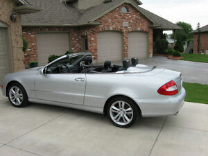 2007 MERCEDES BENZ CLK 350 CONVERTIBLE- PRICED TO SELL
