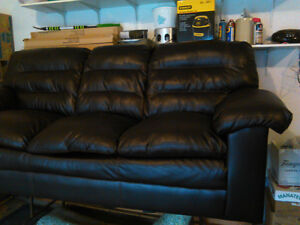 Bonded Leather Couch for Sale