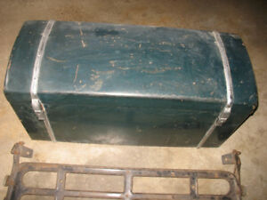 Antique Car Trunk & Trunk Rack