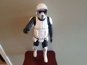 Star wars 18 inch scout trooper.
