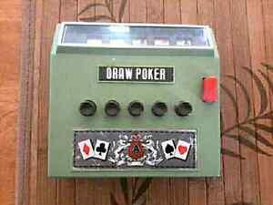 Ancien jeu Draw poker