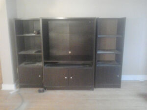 Entertainment Center, heavy solid good quality