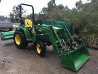 JOHN DEERE 3036e 4wd Tractor