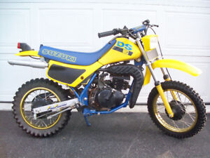 Looking for a 1987 Susuki Ds 80cc