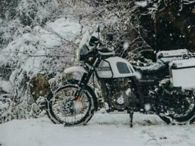 Royal Enfield Himalayan Adventure On/Off Road Motorcycle