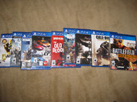 Lots of NEW or MINT PS4 Games (Prices Dropped!)