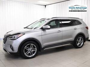 2017 Hyundai Santa Fe Limited XL - 7 Passenger, Leather, Sunroof