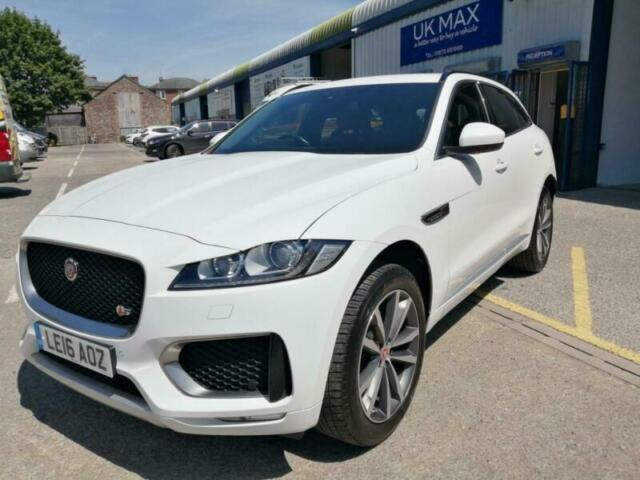 2016 Jaguar F Pace 3 0d V6 S 5dr Auto Awd Estate Diesel Automatic In Abergavenny Monmouthshire Gumtree