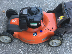 "Like new Husqvarna 22"" self propelled all wheel drive mower"