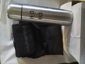 Licensed Harley Davidson  Thermos /and insulated lunch bag