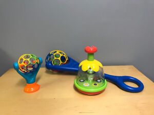 Oballs and butterfly spinner