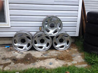"""4 Toyota factory rims 16"""" x 7"""" Also fit GM, Nissan & some Ford"""