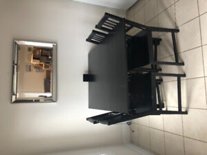 Ikea dining set with 4 chairs