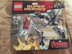 Super Heroes Lego 6-12. Iron Man vs Ultron £3