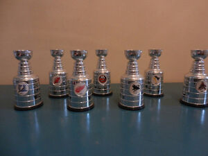 NHL Labatts Stanley Cup Replicas Red Wings, Penguins,Etc.