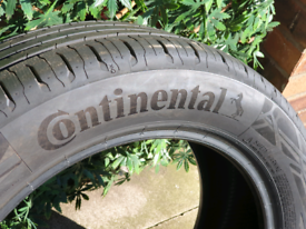 TYRE CONTINENTAL CONTACT 6 215/55/17