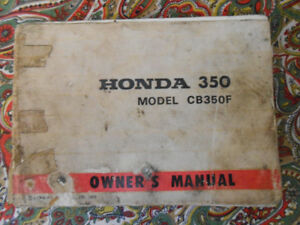 motorcycles owners manual
