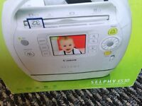 Canon selphy photo compact printer